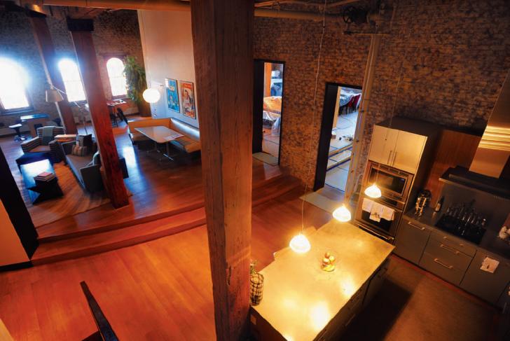 inside tribeca loft tour tribeca trib online. Black Bedroom Furniture Sets. Home Design Ideas
