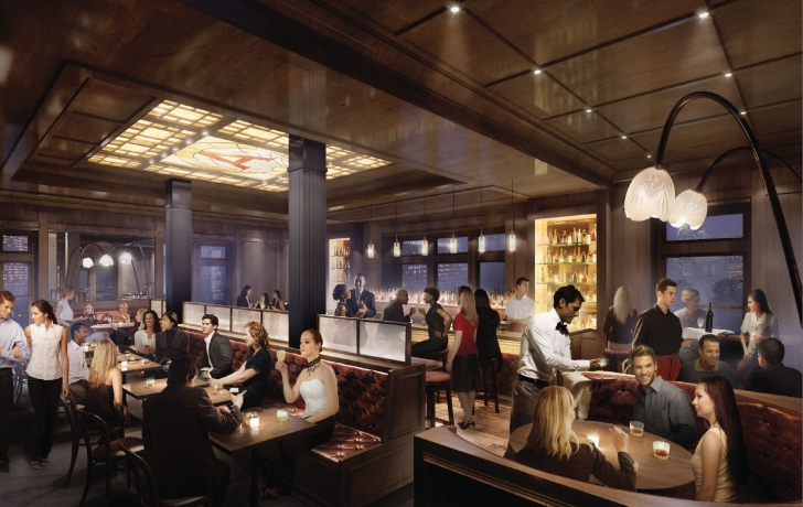 Three Levels Of Food And Drink Coming To Pier A Near