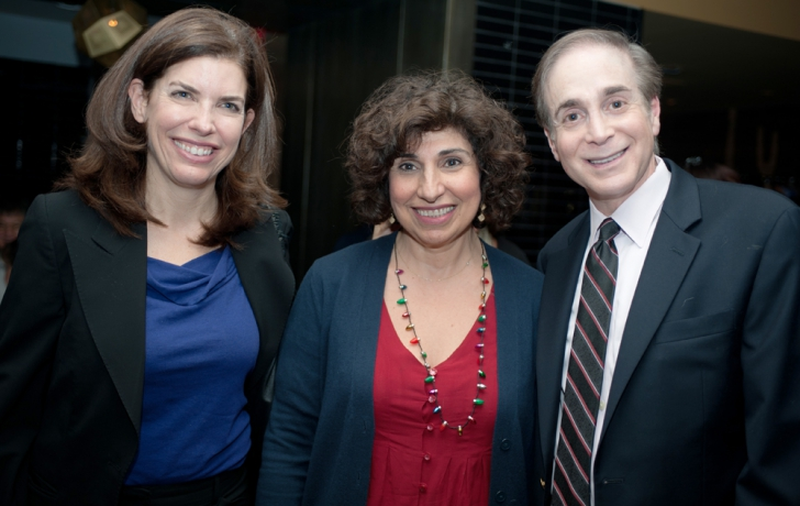 From left: Julie Menin, Rosalie Joseph and Glenn Plaskin. Photo by Robert Braunfeld