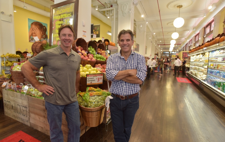 Awesome Gourmet Garage Owners Adam Hartman, Left, And Andy Arons In Their Newly  Opened Tribeca Store At 366 Broadway. Photo: Carl Glassman/Tribeca Trib